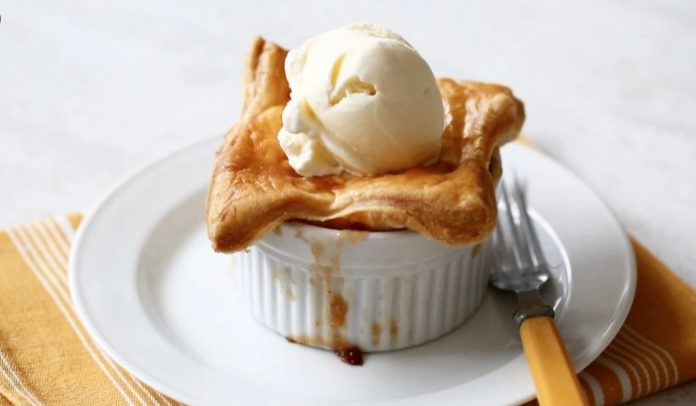 Apple-Bourbon Potpies